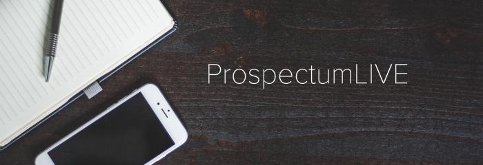 ProspectumLIVE videostream viestiseinä
